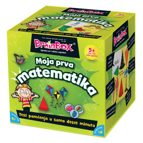 Brainbox 98539 Moja prva matematika hr