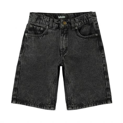 Jeans kratke hlače washed black