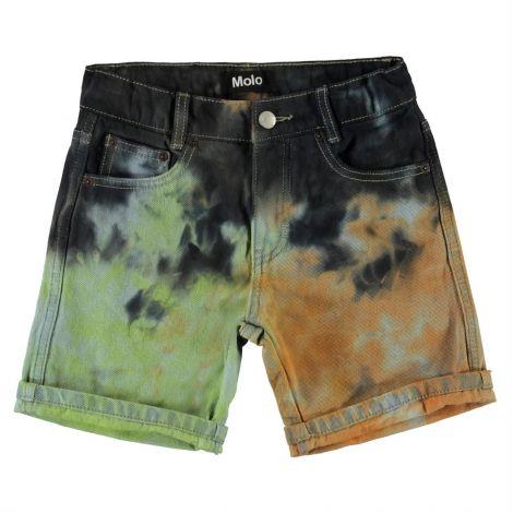 Jeans kratke hlače tie dye
