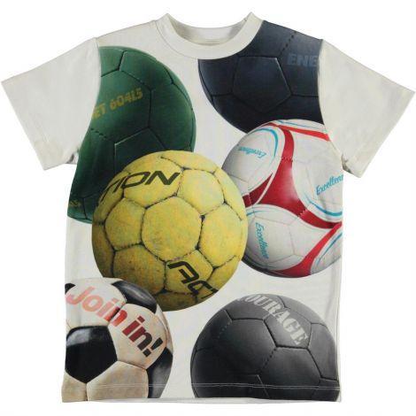 Majica s kratkimi rokavi soccer balls
