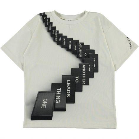 Majica s kratkimi rokavi domino