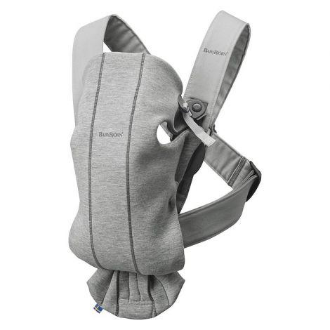 Baby Bjorn Kenguru Mini 3D Jersey - Light Grey