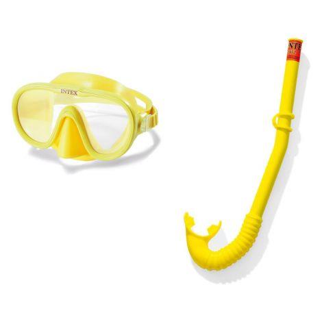 Intex Maska z dihalko - set