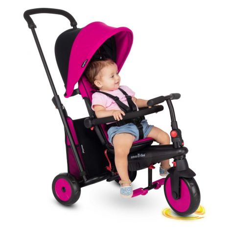 Smart Trike Tricikel 6 v 1 STR3 - roza