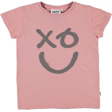Dekliška majica s kratkimi rokavi xo rose