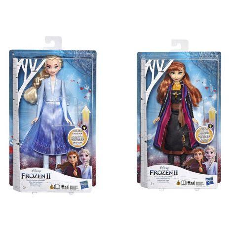 Frozen 2 Svetleča modna lutka