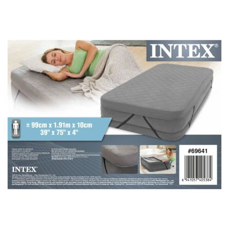 Intex 69641 twin size airbed cover, carry bag - prevleka do višine 46 cm