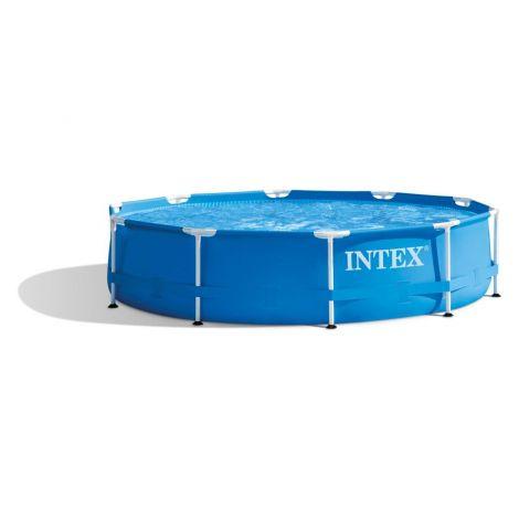 Intex bazen Metal Frame set (w/220-240V črp.filter) ; 3.05m x 0.76m 28202NP