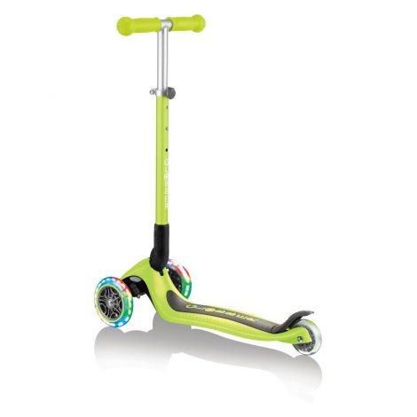 Globber skiro Primo zložljiv, svetleča kolesa - zelen