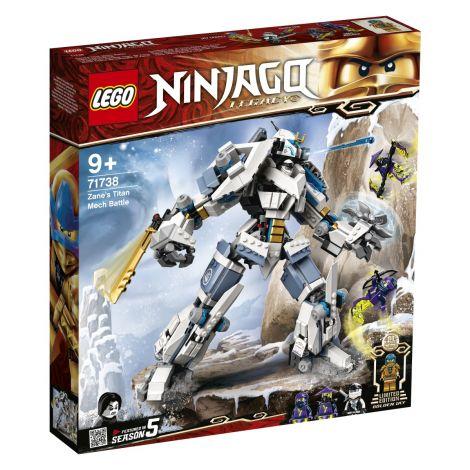 LEGO Ninjago 71738 Zanov bojni titanski robot