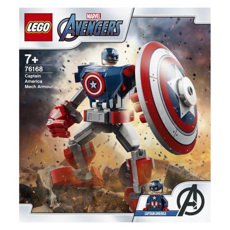 LEGO Super Heroes 76168 Maščevalci: Klasični robotski oklep Stotnika Amerike