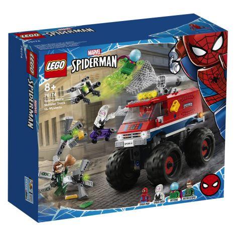 LEGO Super Heroes 76174 Spider-Man: Spider-Manov Pošastni tovornjak proti Mysteriu