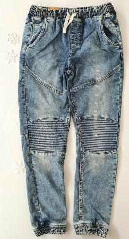 Jeans hlače na pantent