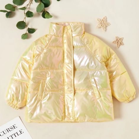 Prešita bunda rumena