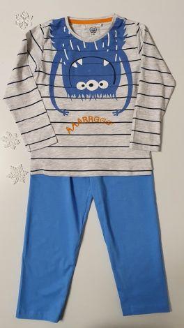 Pižama modra pošastka