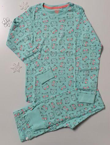 Turkizna komplet pižama