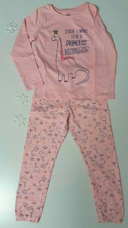 Pižama roza dinozaver
