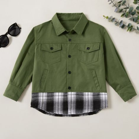 Fantovska srajčna jakna