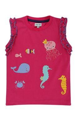 Majica brez rokavov morski prijatelji