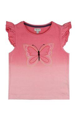 Dekliška majica metuljček